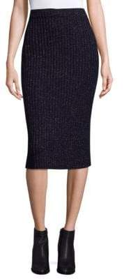 Rag & Bone Jubilee Rib-Knit Pencil Skirt