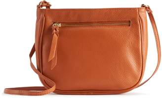 R&R Leather Crossbody Bag