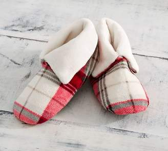 Pottery Barn Winslow Plaid Booties