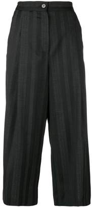 McQ cropped flared trousers