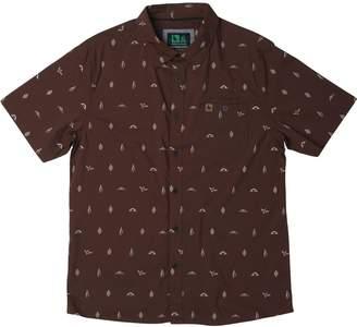 Hippy-Tree Hippy Tree Motif Woven Shirt - Men's