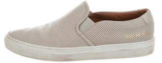 Common Projects Woman by Perforated Slip-On Sneakers