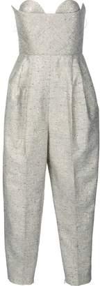 DELPOZO strapless jumpsuit