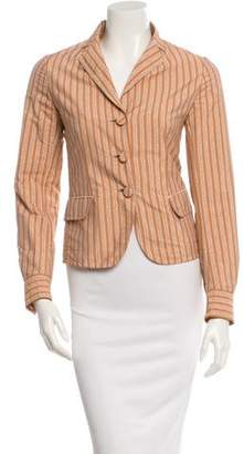 Bottega Veneta Fitted Crinkled Jacket w/ Tags