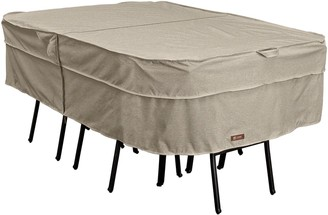 Classic Accessories Montlake Large Rectangular or Oval Patio Table & Chairs Cover
