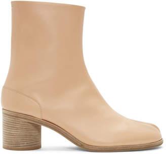 Maison Margiela Beige Tabi Boots