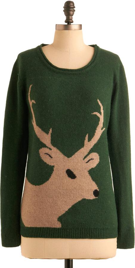 Sugarhill Boutique Buck-y Charms Sweater