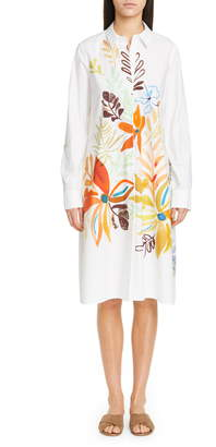 Lafayette 148 New York Porto A-Line Shirtdress