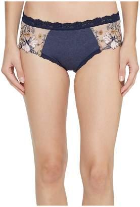 Hanky Panky Embroidered Denim Hipster Bottoms Women's Underwear