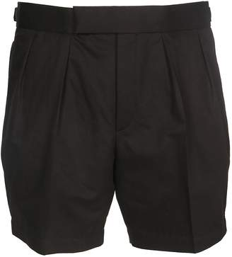 Neil Barrett Pleated Chinos Shorts