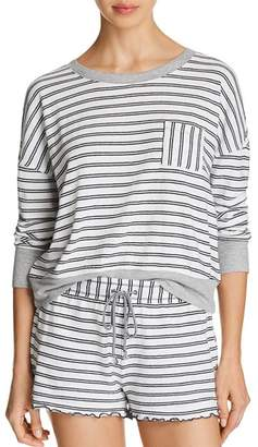 Splendid Stripe Knit Pajama Top