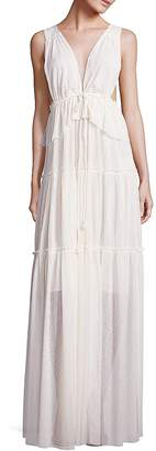 See by Chloe Women's Sleeveless Pleated Gown