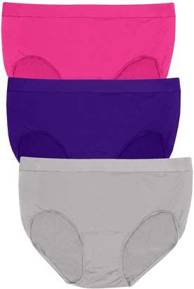 Bali Womens Comfort Revolution 3-Pack Briefs, L