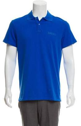 Just Cavalli Woven Polo Shirt w/ Tags
