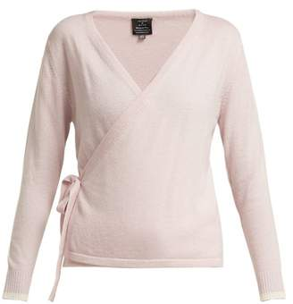 Pepper & Mayne - Cashmere Wrap Cardigan - Womens - Light Pink