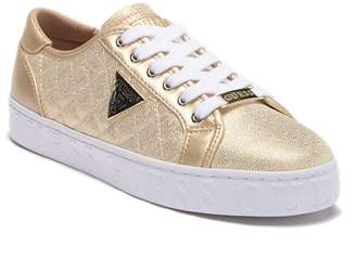 GUESS Graceen 2 Quilted Lace-Up Sneaker