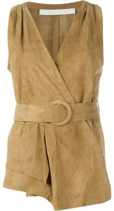 Drome belted wrap waistcoat $860.96 thestylecure.com