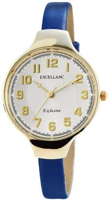 Excellanc Women's Analogue Watch with Money Dial Analogue Display - 195002700164