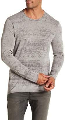 John Varvatos Patterned Pullover
