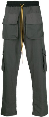 Rhude relaxed-fit cargo trousers