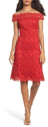 Women's Tadashi Shoji Embroidered Sheath Dress $408 thestylecure.com