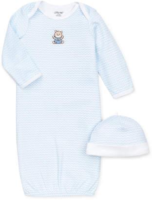 Little Me Baby Boys Chevron Hat & Gown Set