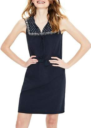 Boden Nella Embroidered Jersey Sundress
