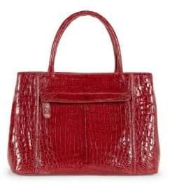 Nancy Gonzalez Crocodile Leather Satchel Bag