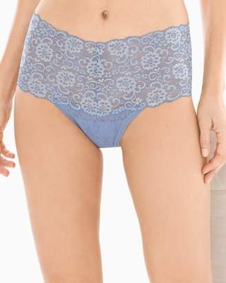 Embraceable Allover Lace Retro Thong