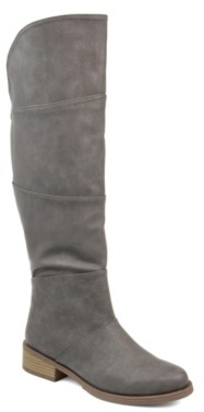 Journee Collection Vanesa Extra Wide Calf Riding Boot