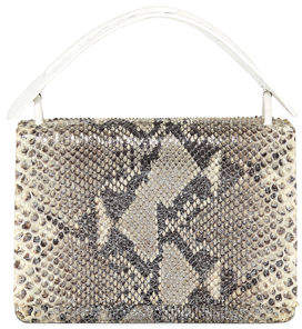 Nancy Gonzalez Python Medium Top Handle Bag