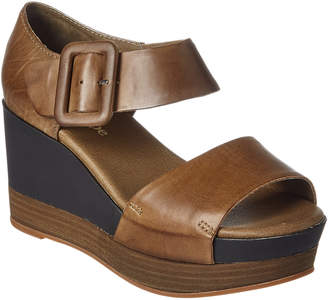 Antelope 882 Leather Wedge Sandal