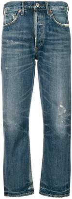 Citizens of Humanity Gia high rise straight jeans