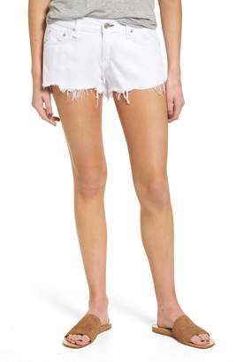 Rag & Bone Ripped Cutoff Denim Shorts