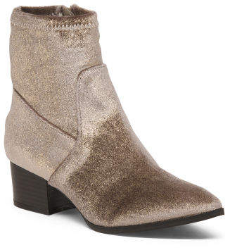 Western Influenced Contemporary Booties