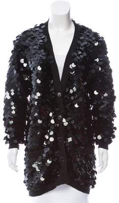 Sonia Rykiel Sequined Button-Up Cardigan