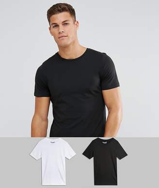 Jack and Jones Originals 2 Pack T-Shirt SAVE