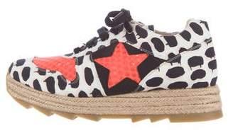 Stella McCartney Espadrille Platform Sneakers