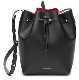 65ec0f224be0 Mansur Gavriel Vegetable Tanned Leather Mini Bucket Bag
