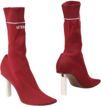 Vetements Ankle boots