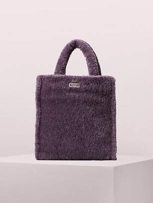 Kate Spade Sam Fluffy Medium North South Crossbody Tote, Berry Blitz