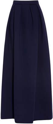 DELPOZO Neoprene Maxi Skirt