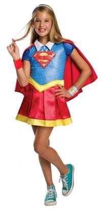 Dc Super Hero Girls DC Super Hero Girls Supergirl Hoodie Halloween Costume Dress