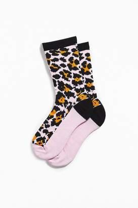 Urban Outfitters Cheetah Print Sock