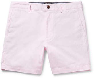 Club Monaco Baxter Slim-Fit Striped Cotton Shorts