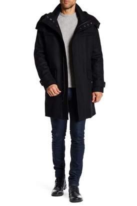 Cole Haan Melton Wool Coat