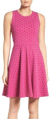 Women's Leota Ava Fit & Flare Dress $168 thestylecure.com