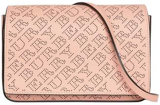 Burberry perforate clutch