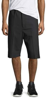Neil Barrett Side-Strike Drop-Crotch Shorts