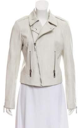 Rachel Zoe Leather Biker Jacket